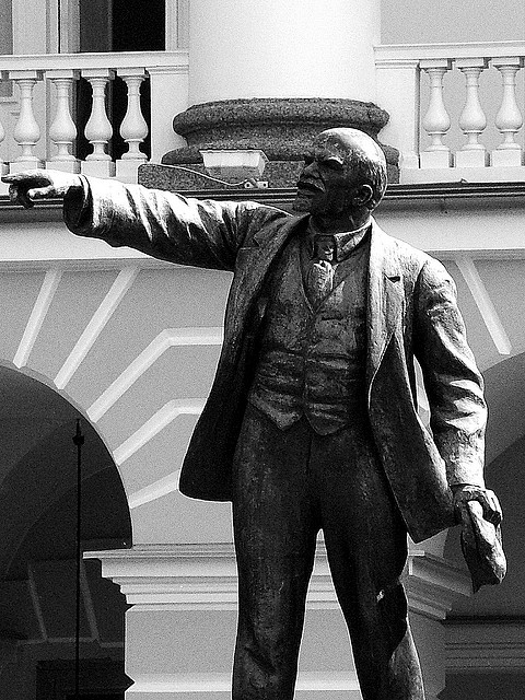 """""""The Revolution Went That Way..."""" by Gerry Balding on Flickr (CC BY-NC-ND 2.0)"""