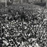 I funerali di Sotiris Petroulas ad Atene, il 23 luglio 1965