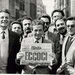 """""""24 marzo 1984 - Con l'edizione straordinaria de L'Unità alla manifestazione contro il decreto che taglia la scala mobile a Roma"""" by Camera dei Deputati on Flickr (CC BY-ND 2.0)"""
