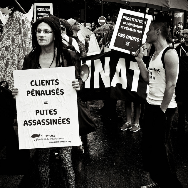 """Sex workers protest"" by Yann Beauson on Flickr (CC BY-NC-ND 2.0)"