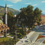 """Ali Pasha's Mosque in Sarajevo (1966)"" by FDS"