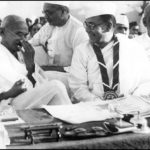"""Gandhi and Bose at the Indian National Congress, 1938"