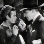 """screenshot of Leo Gorcey and James Cagney from the film Angels with Dirty Faces"" by Rossrs~commonswiki via Wikimedia Commons (Public Domain)"