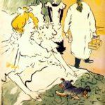 """Henri de Toulouse-Lautrec (1864-1901), """"L'artisan moderne"""", 1896. Poster litografico, 90 x 64 cm. Art Institute Chicago, Chicago via Wikimedia Commons [Public Domain]"""