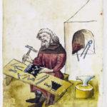 """Hausbuch der Mendelschen Zwölfbrüderstiftung"" Volume 1, Nürnberg 1426–1549. Stadtbibliothek Nürnberg, Amb. 317.2°, via Wikimedia Commons [Public Domain]."