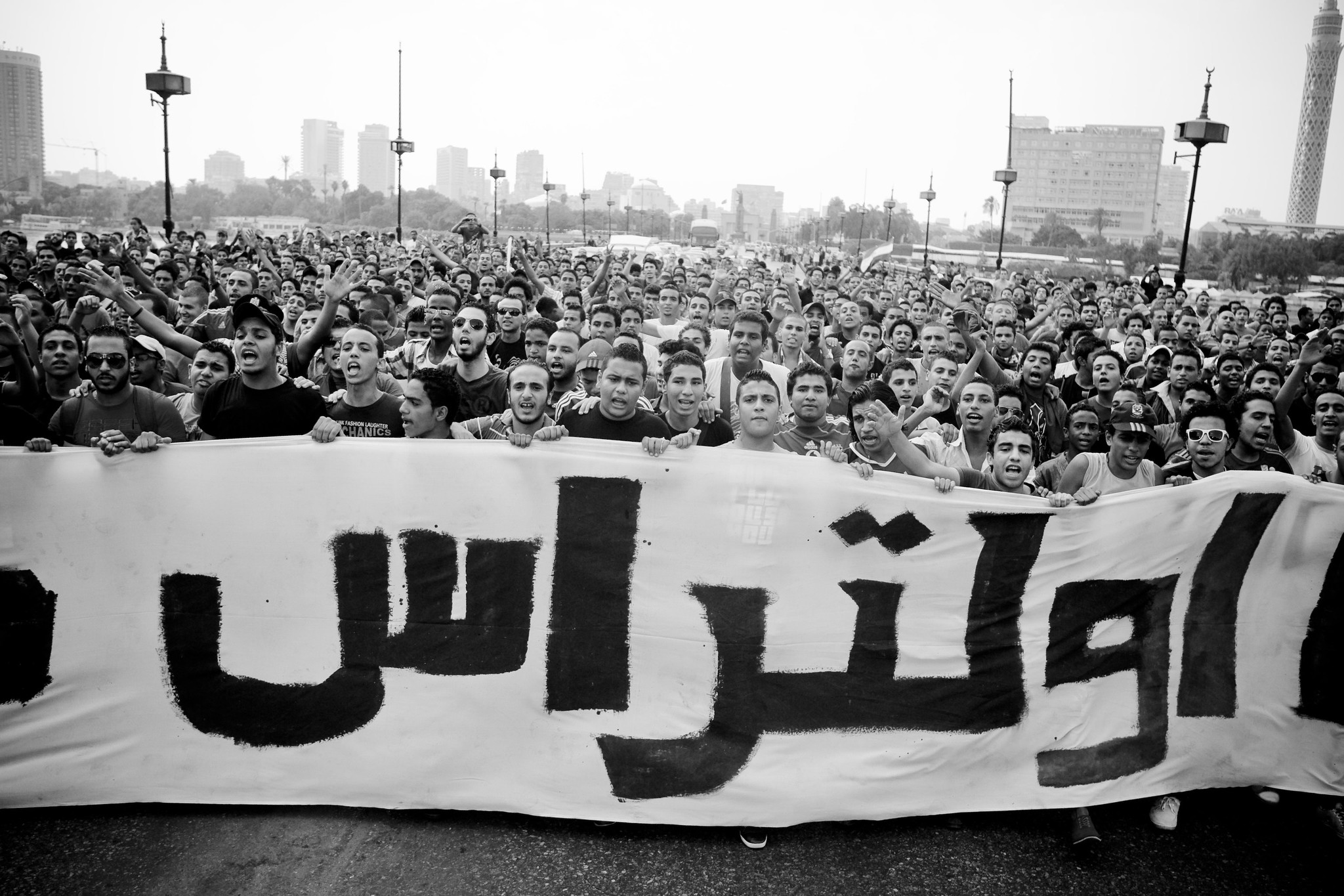 """Ultras Ahlawy march against police brutality"" by Hossam el-Hamalawy on Flickr (CC BY-SA 2.0)"
