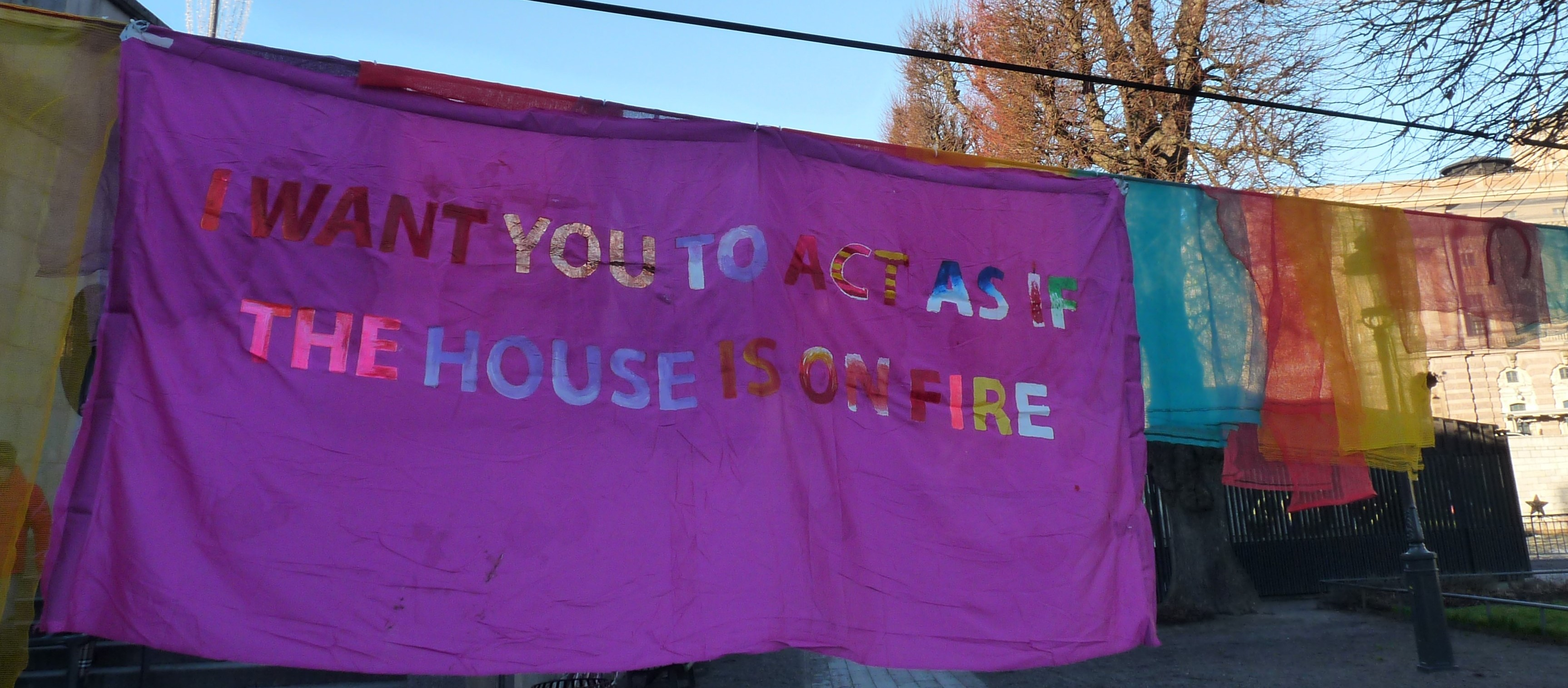 """""""I want you to act as if the house is on fire by Roberta Biasillo (C)"""