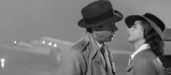 """Casablanca"" by Trailer screenshot - trailer on Wikimedia Commons [Public Domain]"