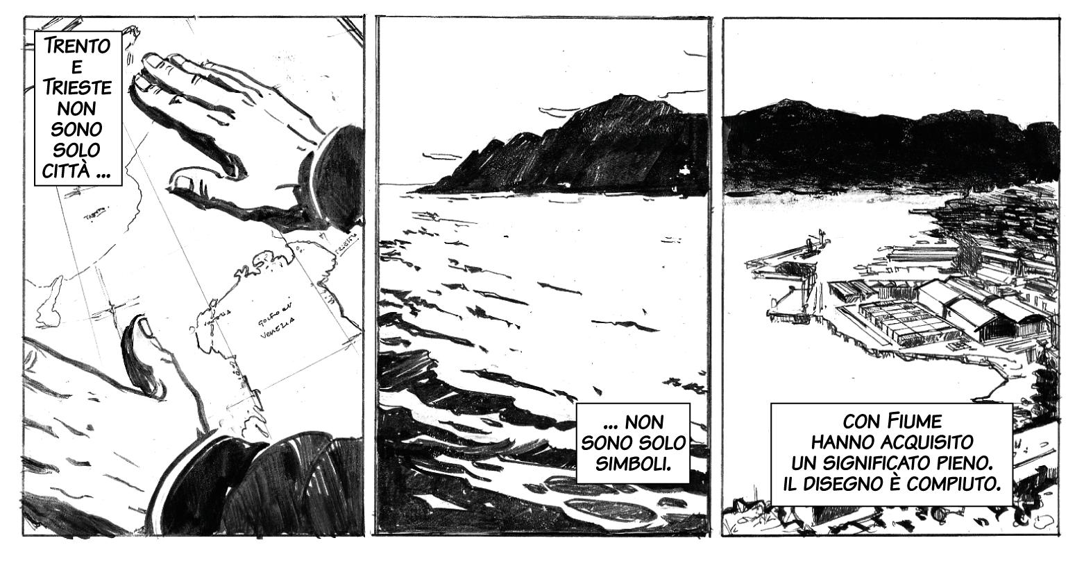 Gabriele D'Annunzio in marcia verso Fiume / D'Annunzio il conquistatore.