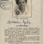 © Archivio Generale di Ateneo, Fascicoli di studente, Scienze MM.FF.NN., Spolato Maria Silvia, matr. 147/54.